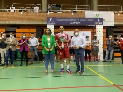El Incarlopsa Cuenca gana el Trofeo de la Junta de Comunidades de Castilla-La Mancha en Albacete